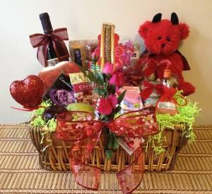 Naughty Surprise Gift Basket If You Are Planning The Birthday With Him At Home Or You Have Booked Hotel Room To Spend The Day With Him Then This Gift Can