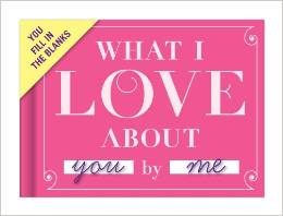 9 What I Love You About Journal
