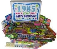 80s Retro Nostalgic Candy Decade 30th Birthday Gift Box