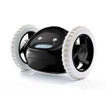 Clocky Alarm Clock on Wheels in Black