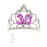 Forum-Novelties-Happy-Birthday-30th-Silver-Pink-Tiara