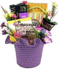 gift basket for sister