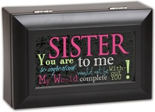 25th Birthday Gift Ideas For Sister Cote Garden Matte Black Box Jewelry A Diy Gifts