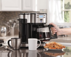Single Serve Brewer and Coffee Maker