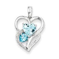 Sterling-Diamond-Heart-pendant-necklace