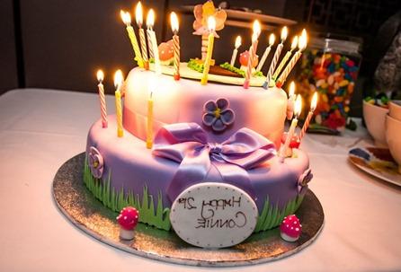 Thirty Floor Cake