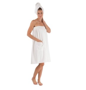 Women's Spa Wrap Set