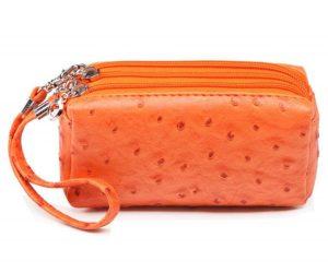 Clutch Three Layers Zipper Wallet
