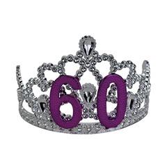 60th birthday tiara