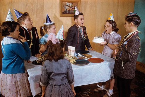 Birthday celebrations like kids