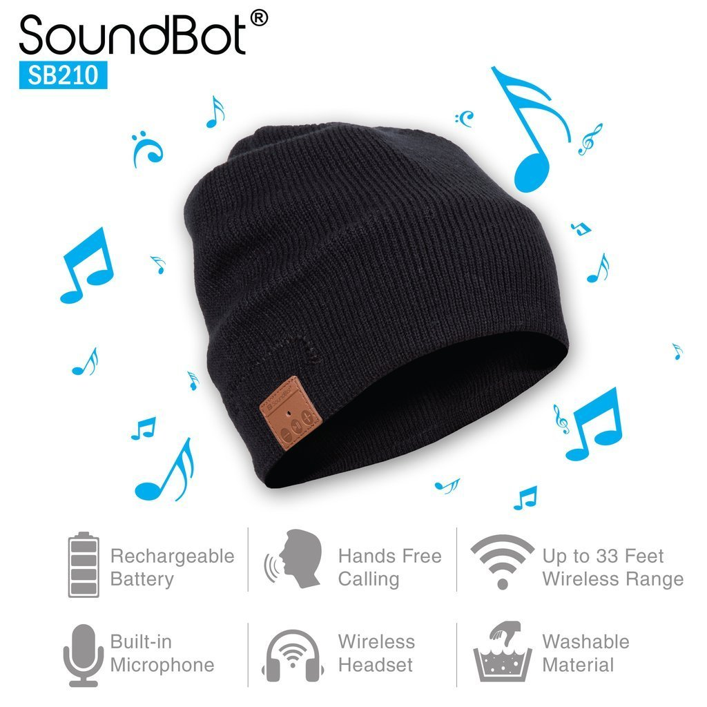 Bluetooth Beanie with Wireless Headphones