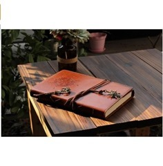 Leather Notebook-vintage Diary