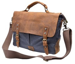 Canvas Cross Body Laptop bag