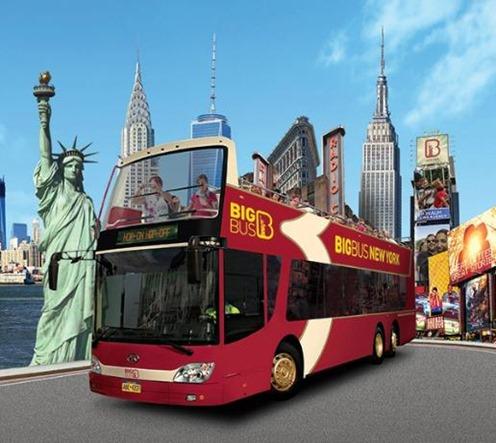 Open bus trip
