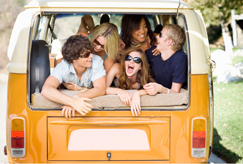 Birthday-Party-Ideas-for-Teens-Road trip party