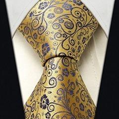 Scott Allan Men's Floral Necktie