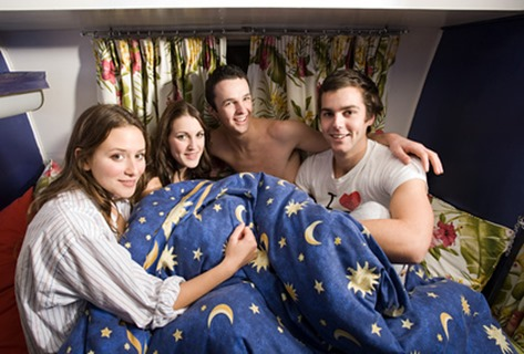 Birthday-Party-Ideas-for-Teens-Sleepover after party