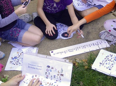 Birthday-Party-Ideas-for-Teens-Treasure hunt game