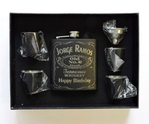 When You Will Gift Him This Manly Of Bourbon Flask On His Birthday He Be Very Much Happy For The Pack Contains Funnel Filling And