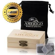 Premium Whiskey Stones by Amerigo