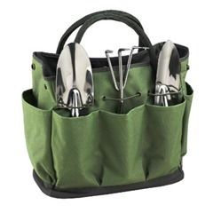 Ascot Eco Gardening Tote with Tool Set