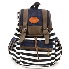 Fashionable Canvas Backpack
