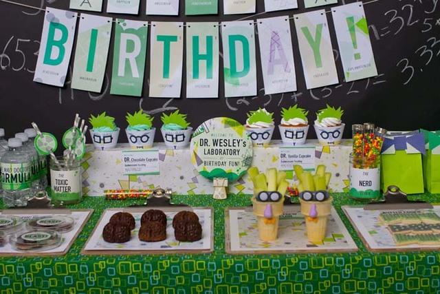Mad-Scientist Birthday Party