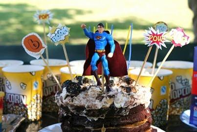 Vintage Superhero Party theme