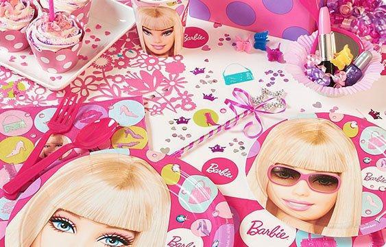 Barbie girl inspired theme