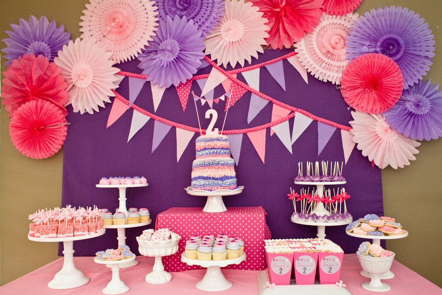Birthday decorations and costumes