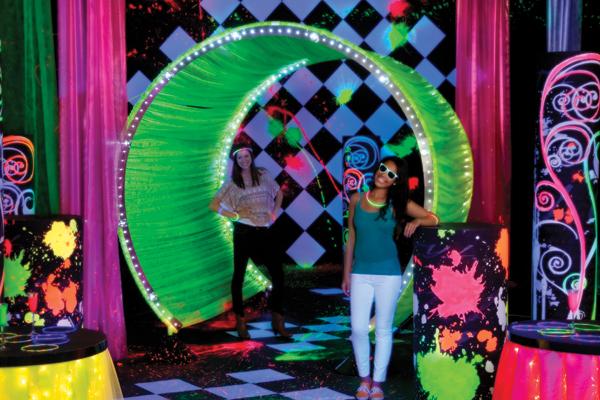 Glow theme party
