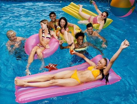 Tween pool party