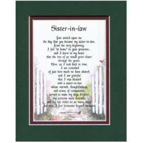 Sister In Law Frame