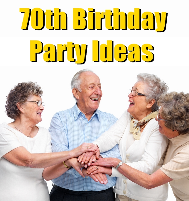 Wedding Gifts For 70 Year Olds : 70th Birthday Party Ideas That are Sweet and Simple Birthday Inspire