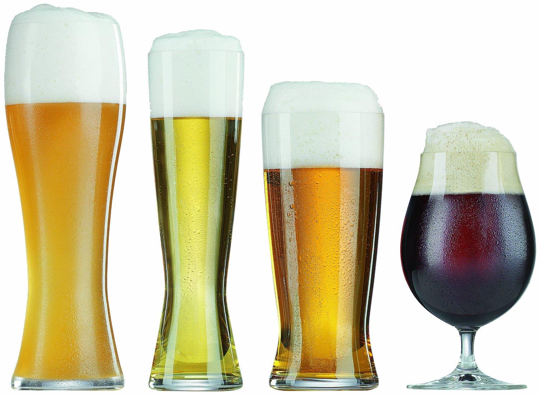 Fancy beer glasses
