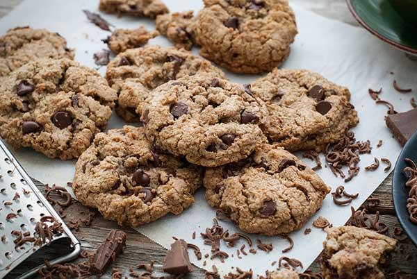 Homemade cookies for sleepover