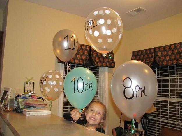 ballon pop up activity