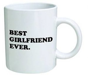 What to get your girlfriend for her birthday birthday inspire best girlfriend ever mug negle Gallery