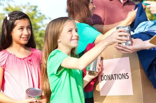 donate something