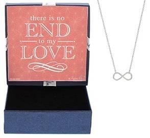 infinity jewelry set with box
