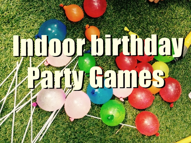 indoor birthday party games