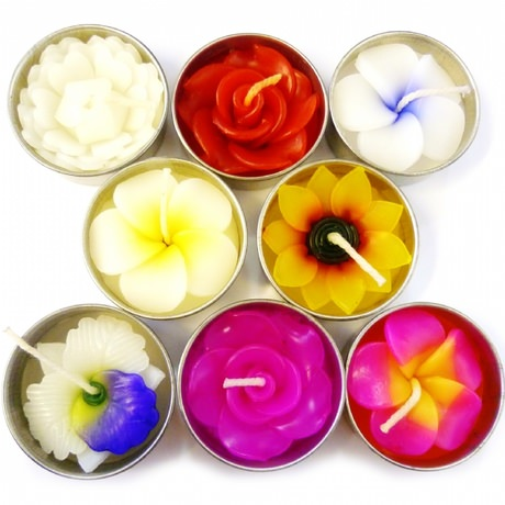 Blossom scented candle tea lights