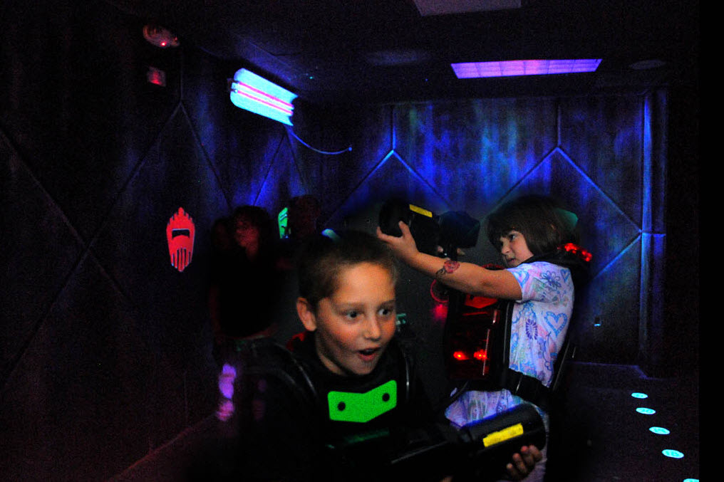 Laser tags