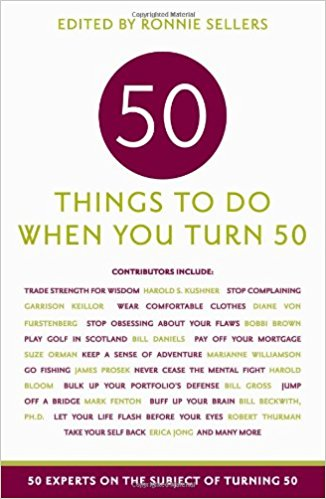Fifty Things To Do When Turn Book