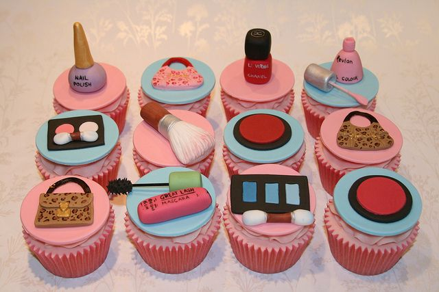Cosmetics and make up theme party