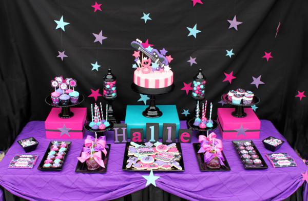 Rock Themed Party & 18th Birthday Party Themes They Will Love to Try | Birthday Inspire
