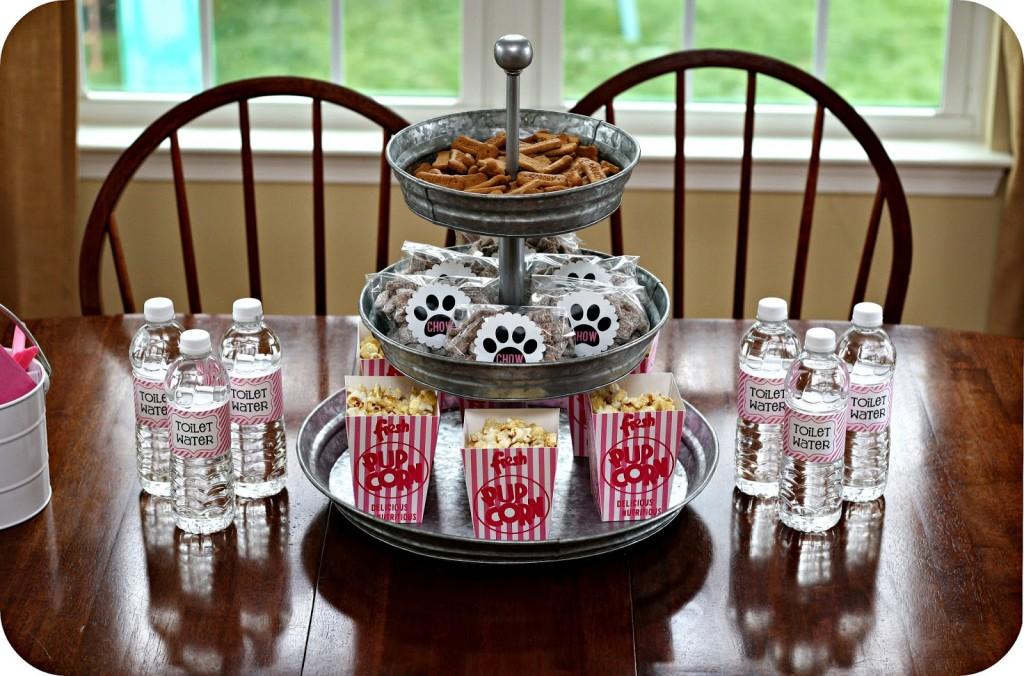 Food Dog Birthday Party