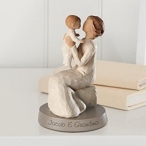 A grand mother figurine