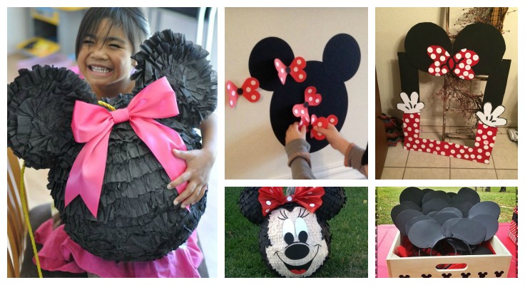 Minnie mouse Party Games Ideas