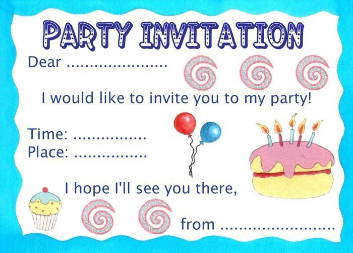 Make a party invite selol ink make a party invite 90th birthday party ideas for anyone touching the milestone of stopboris Image collections